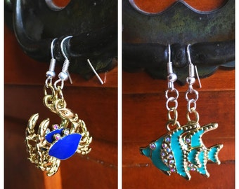 Ocean Themed Earrings