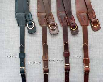 Famous Horween Camera Strap