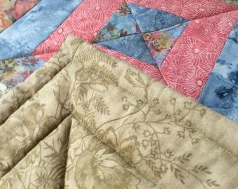 Patchwork quilt / throw