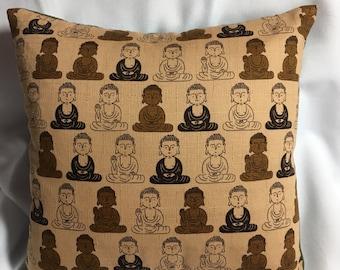 Little Buddha Pillow 9x9~