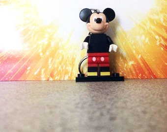 Disney Mickey Mouse Lego Inspired Keyring