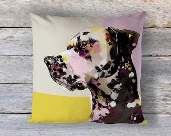 Dalmatian Cushion - Dalmatian Pillow - Dalmatian Art - Dalmatian Print - Dalmatian Gift - Dalmatian Lover - Dog Lover Gift - Dalmatian Decor