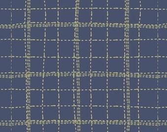 Mad Plaid by Art Gallery Fabrics - Deep Sea Plaid - Cotton Woven Fabric