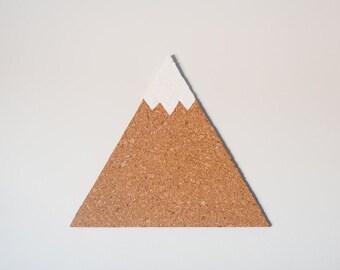Mountain Cork Board