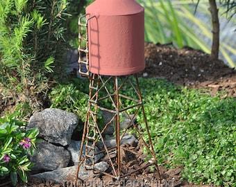 Water Tower for Miniature Garden, Fairy Garden