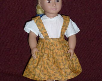 "18"" Doll Dresses: Jumpers (2 Options)"
