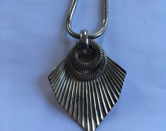 Vintage Sarah Coventry Silver Necklace
