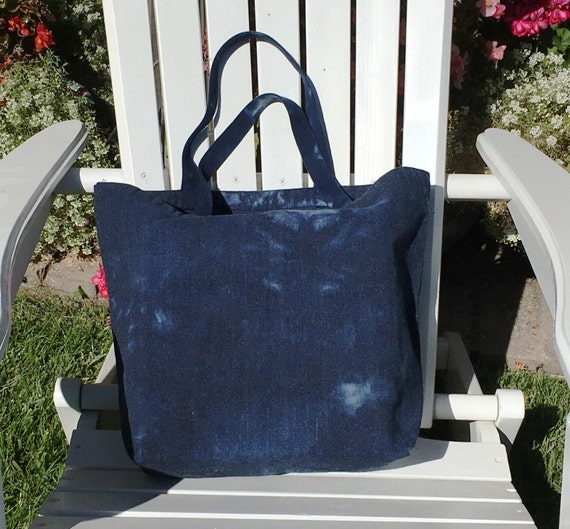 Tote Bag Carry All Hand Dyed in the USA