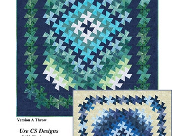 Twister Tapestry by Marilyn Foreman for Quilt Moments --Twister Quilt Pattern in 3 Sizes #QM130