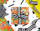 Desert Gift Wrap, Single Sheet