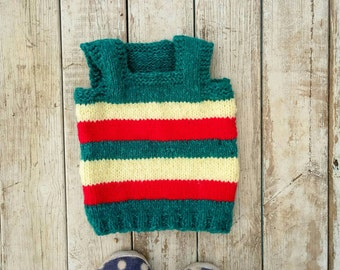 Baby Sweater.Baby Boy Gift.Crochet Sweater.Baby Boy Sweater.Sweater 3-6 month.Boy Clothing.Handmade Sweater.Birthday Gift Boy.knitted Vest