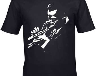 Miles Davis T-Shirt Homage Giant Of Jazz T-Shirt Mens 100% Unofficial