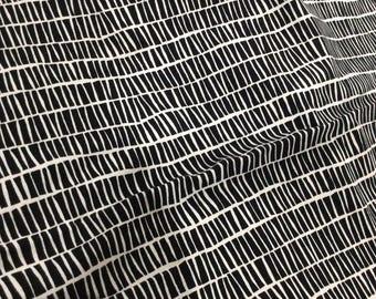 1yd ((pre-cut)) Piled Ebon Art Gallery Knit Fabric