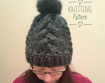 Knitting PATTERN - The Wanderer Toque, Digital Download, PDF Pattern