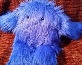 Clue the blue Sasquatch