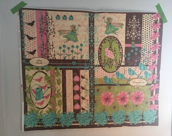 Fairy Tip Toes by Tina Givens panel