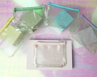 Rainbow Glitter Purse