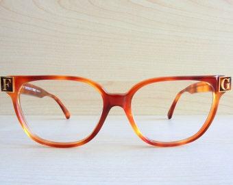 GIANFRANCO FERRE vintage eyewear original 80s 90s eyeglasses frame