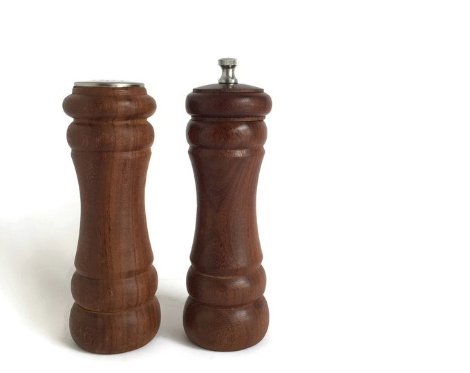 Danish Salt and Pepper Mills, Peter Dienes Made in Holland