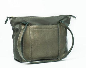 """Leather Bag, Leather, 13"""" Laptop, Handcrafted daily bag, Gift"""