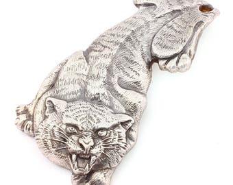 """Silver Money clip Banknote clip """"Tiger"""""""