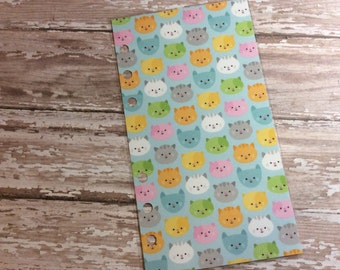 Dashboard for Personal Medium Size Planner Cute Cat Heads