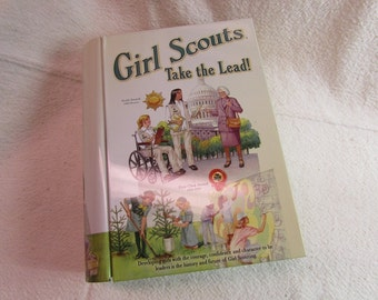 Girl Scout Tin and Cook Book
