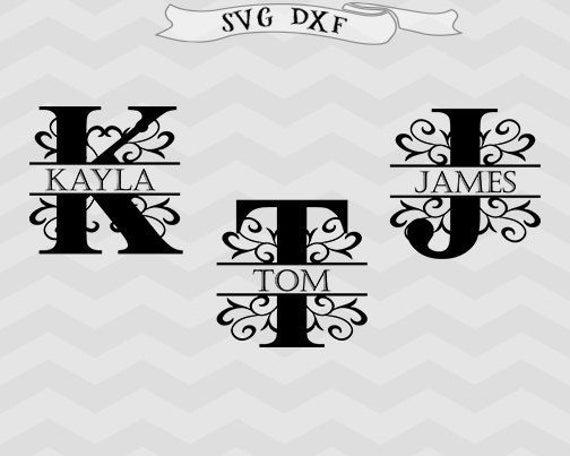 Vines Font Svg Vines Letter Monogram Svg Monogram Letter Svg