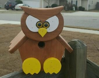 Owl Birdhouse