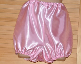 "Lovely sissy baby pink satin bloomers / knickers, 38"", Sissy Lingerie"