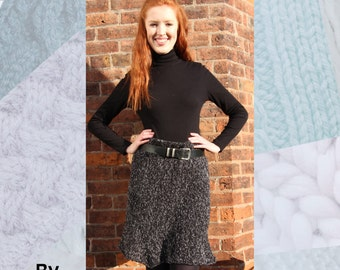 Georgie Skirt Hand Knitting Pattern