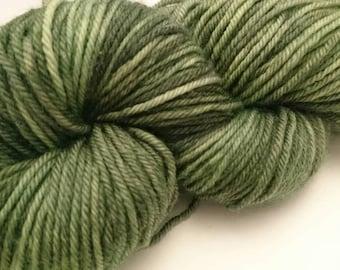 Camo Green Double Knit Sock Yarn 100g