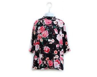 Floral Mock Neck Dress// Baby Dress//Toddler Dress