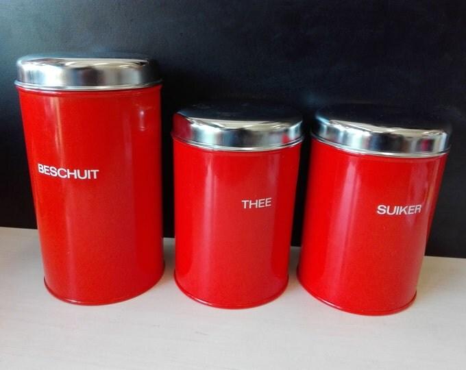Brabantia Dutch canister set