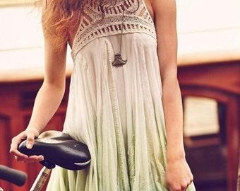 digital pattern, pdf pattern, boho summer dress
