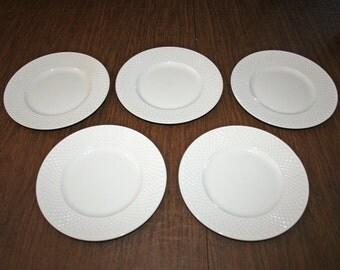 vintage spode copeland mansard bone earthenware salad plate set of 5