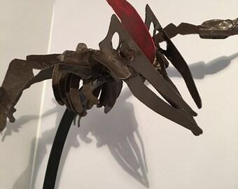 Pteranodon metal Skeleton