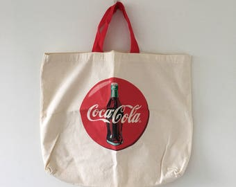 Coca-Cola Tote Bag// Coke bag