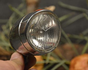 Vintage Bicycle Lamp, Moped Headlight, Vintage Bike Light Bicycle Dynamo Lamp Metal Bicycle Accessories Mountable Bike Lamp Retro Bike