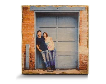 Photo on Wood - Any Size | Custom Wood Print | Picture on Wood | Pallet Signs | Wood Print | Rustic Home Decor | Wood Sign | Photo on wood |