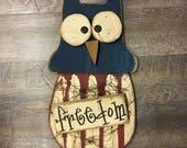 Freedom Americana Owl