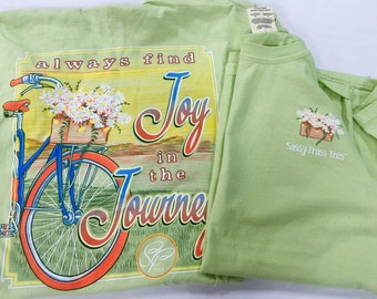 Sassy Frass Enjoy the Ride Tee NEW