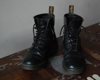 Doc Martens/ Schwarz/ 37/ Grunge Boots/ Punk/Festival Boots/ Schnürstiefel/ Vintage/ Original