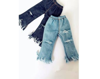 Jeans denim pants ELASTIC for blythe jerryberry azone xs and licca