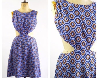 1960's Cut Out Dress