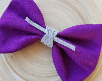 Fabric bow clip / fabric bow / hair bow / hair clip