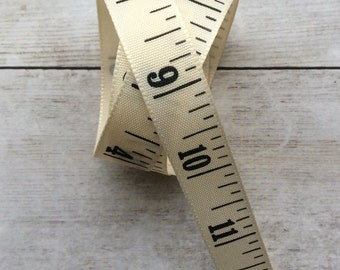 Tape Measure Ribbon Inches