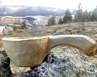 Kuksa, finnish style II, wooden cup