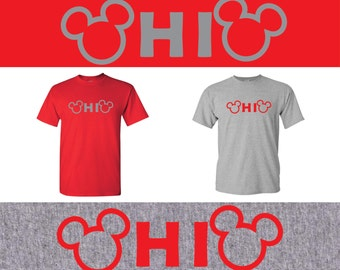 Ohio State Mickey Mouse t shirt, shirt, Disney, Ohio, Buckeyes, Ohio State Buckeyes.
