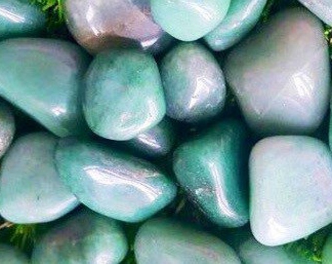 Green Aventurine Crystal- Natural Green Aventurine/ Green Quartz Tumbled Stone from Brazil Healing Crystals \ Metaphysical \ Crystal \ Reiki
